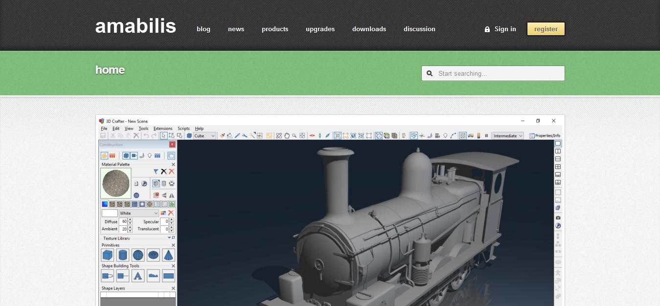 3D Crafter screen short