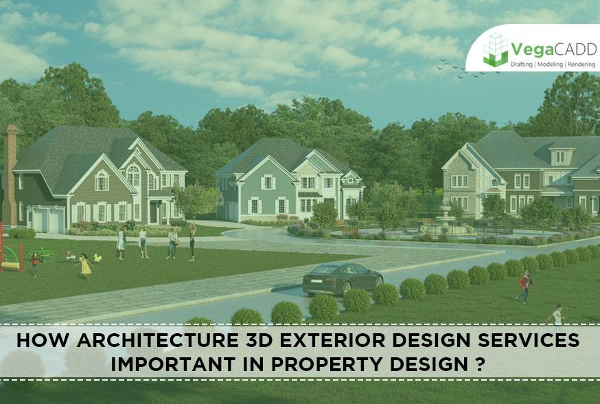 Architecture 3D Exterior Design Services