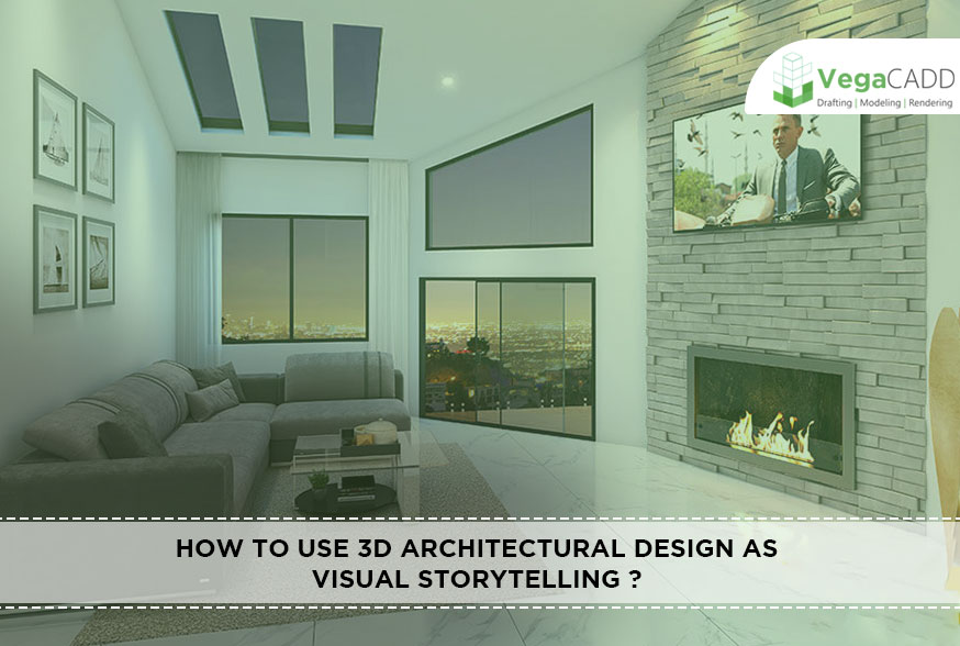 3D Architectural Design as Visual Storytelling