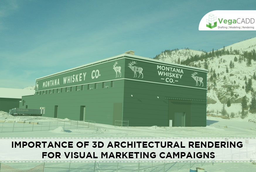 3D Architectural Rendering for visual marketing