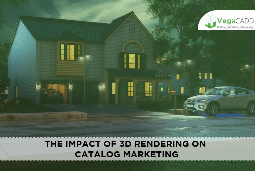 3D Rendering on Catalog Marketing