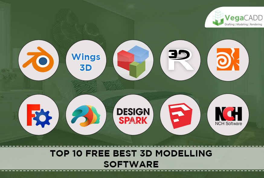 Top 10 Free Best 3D Modelling Software