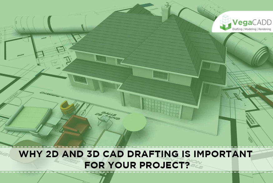 2D and 3D CAD Drafting