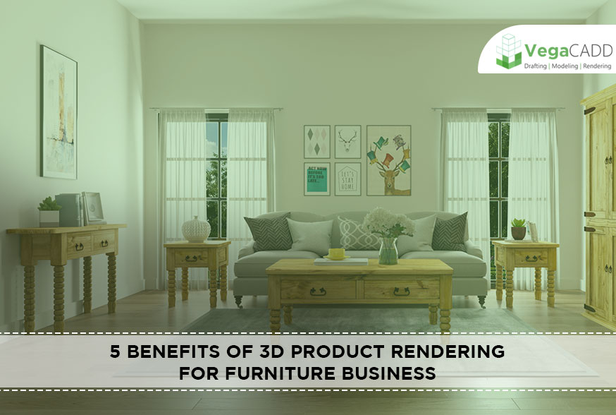 3D Product Rendering for Furniture Business