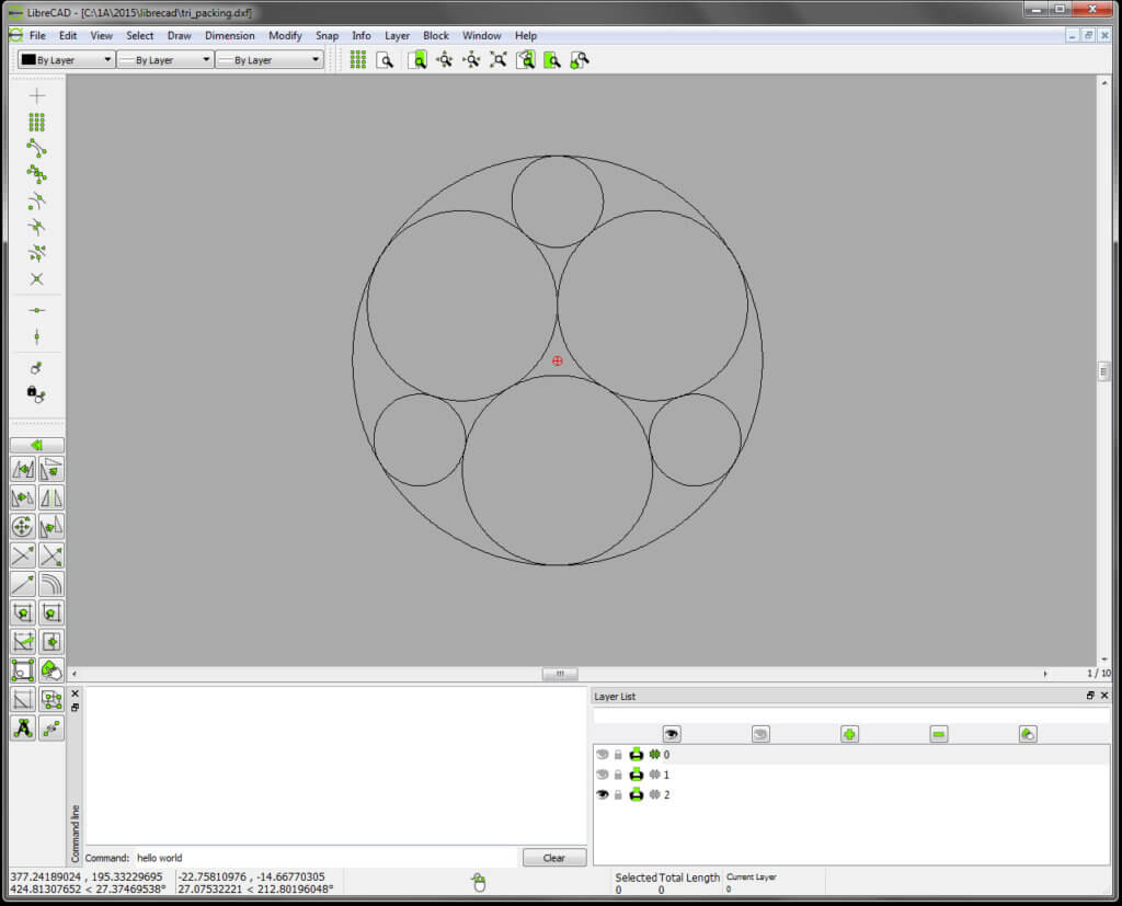 LibreCAD - CAD Drafting Software