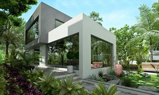 3D-Exterior-Rendering-Alhambra