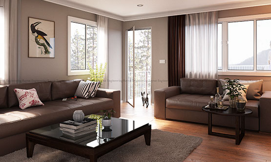 3D-Interior-Rendering-Compton