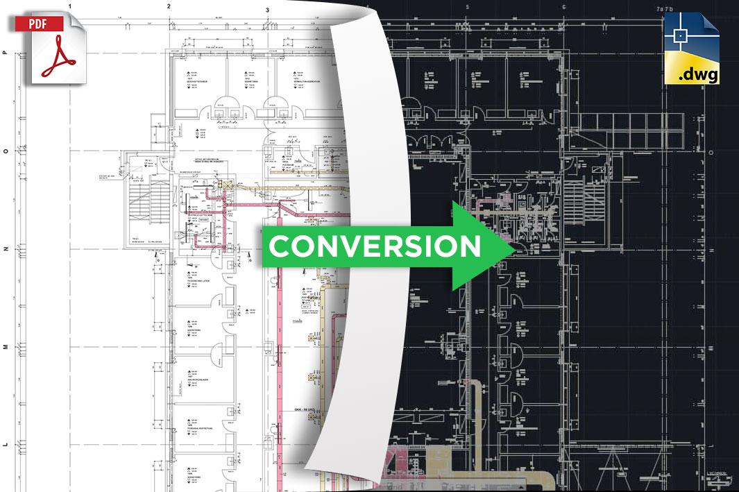 PDF to AutoCAD Conversion