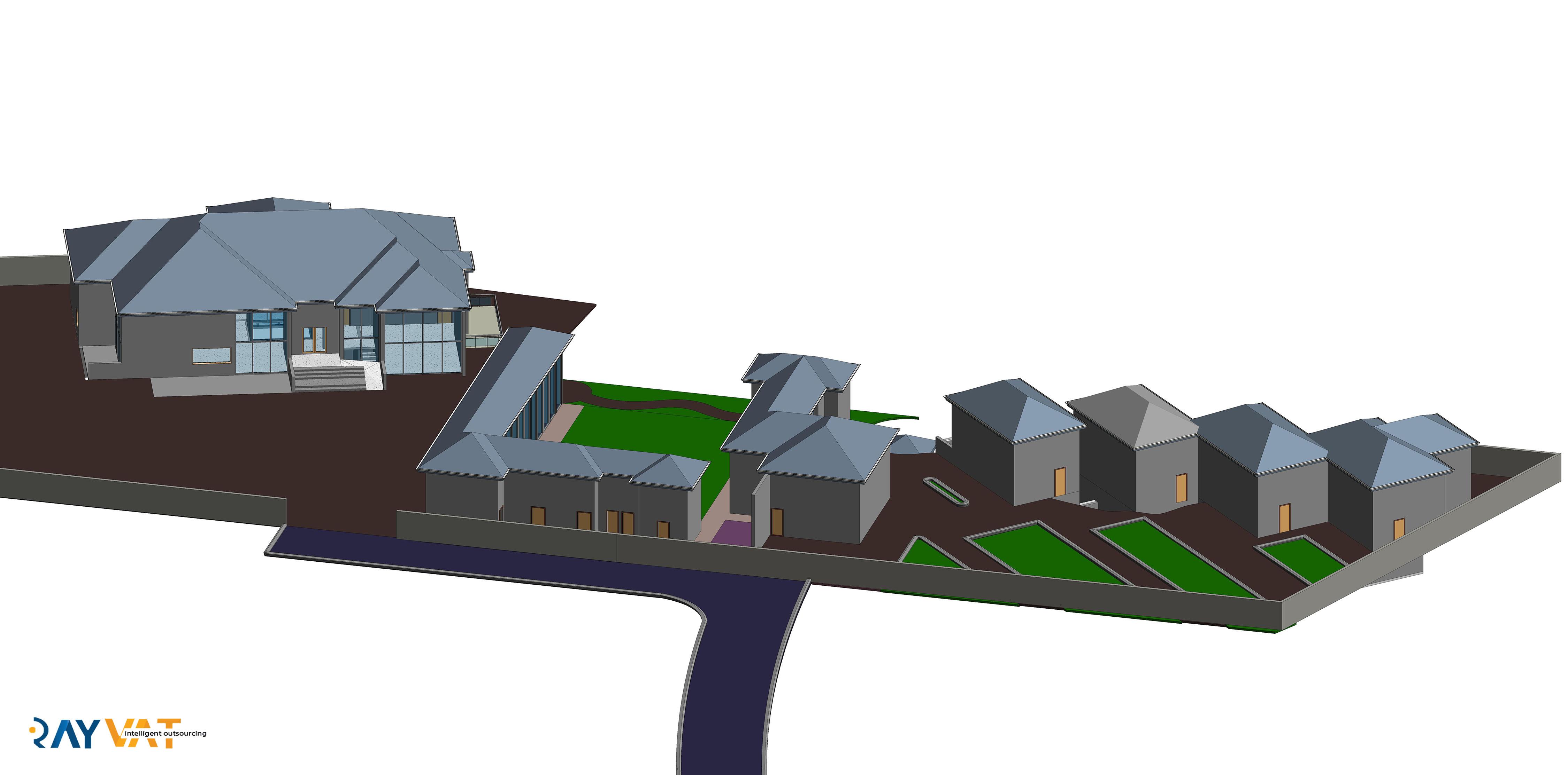 Revit 3D Architecture modeling