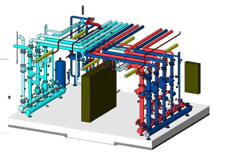 MEP Model design